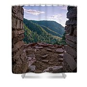 Doorway To The World Shower Curtain