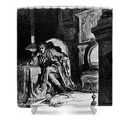 DorÉ: The Raven, 1882 Shower Curtain by Granger