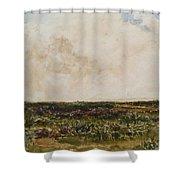 Dorset Landscape Shower Curtain