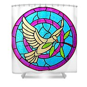 Dove Of Peace Shower Curtain