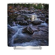 Down River Shower Curtain