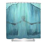 Downpour Shower Curtain