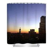 Downtown Atlanta Lights Shower Curtain