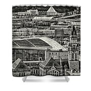 Downtown Nashville Shower Curtain