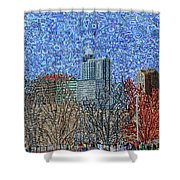 Downtown Raleigh - View From Chavis Park Shower Curtain