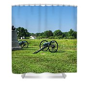 Dows 6th Maine Battery Shower Curtain