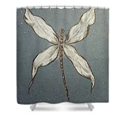 Dragonfly Shower Curtain by Ginny Youngblood