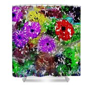 Dream Garden II Shower Curtain