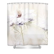 Dreamy Garden  Shower Curtain