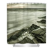 Dreamy Waves Shower Curtain