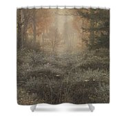 Drenched Furze Shower Curtain