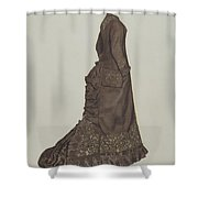 Dress Shower Curtain