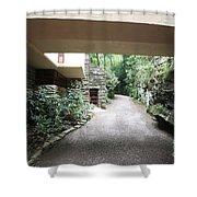 Driveway Fallingwater  Shower Curtain