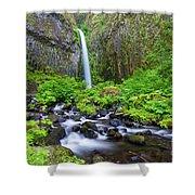 Dry Creek Falls Shower Curtain