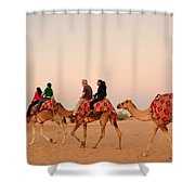 Dubai City Tour Shower Curtain