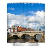 Dublin's Fairytales Around  River Liffey 2 Shower Curtain