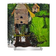 Duck Houses Shower Curtain
