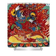 Dudjom's Dorje Drollo Shower Curtain