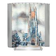 Duke University Chapel Shower Curtain