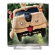 Dumb And Dumber To 2014  Shower Curtain