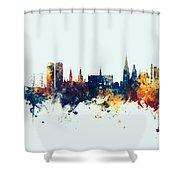 Dundee Scotland Skyline Shower Curtain