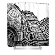 Duomo De Florencia Shower Curtain