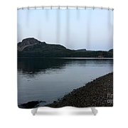 Dusk Calm Evening Shower Curtain