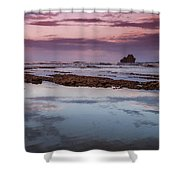 Dusk In Puerto Viejo Shower Curtain