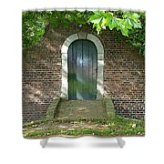 Dutch Door Digital Shower Curtain by Carol Groenen