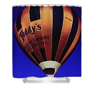 Early Morning Balloon Ride Shower Curtain