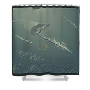 Earth And Space Shower Curtain