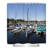 East Lake Toho In Florida Shower Curtain