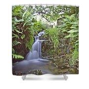 Edale River Shower Curtain