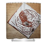 Edith - Tile Shower Curtain
