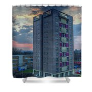 Edmunds Tower Shower Curtain
