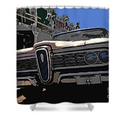 Edsel On Route 66 Shower Curtain