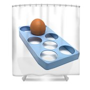 Egg Shower Curtain