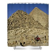 Egypt's Pyramids Of Giza Shower Curtain