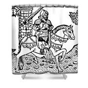 El Cid Campeador (c1040-1099) Shower Curtain