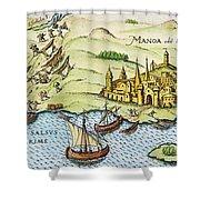 El Dorado, 1599 Shower Curtain