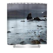 Elgol Beach Shower Curtain