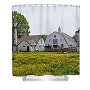 Elm Grove Farm Shower Curtain