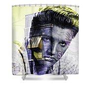 Elvis Presley Sun Studio Collection Shower Curtain