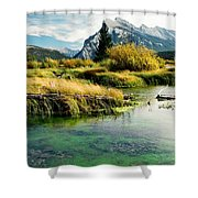 Emerald Waters Shower Curtain