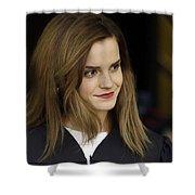 Emma Watson Shower Curtain