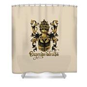 Emperor Of Germany Coat Of Arms - Livro Do Armeiro-mor Shower Curtain