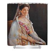 Empress Alexandra Feodorovna Of Russia Shower Curtain
