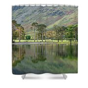 England, Cumbria, Lake District National Park Shower Curtain