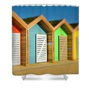 England, Northumberland, Blyth Shower Curtain