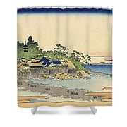 Enoshima In Sagami Province Shower Curtain